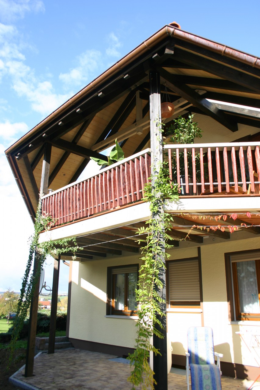 Balkonanbau BECK Zimmerei