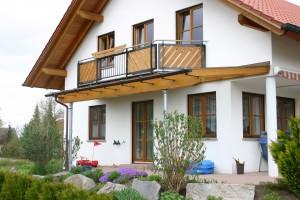 Balkon und Terrassendach in einem BECK Zimmerei