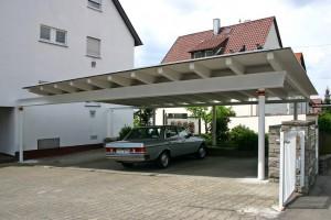 4er Carport BECK Zimmerei