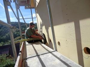 Fassadendämmung auf verputztes Mauerwerk ohne Styropor BECK Zimmerei